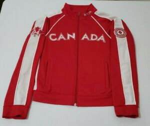 ROOTS Team Canada 2004 Olympics Jacket size SX/TP WOMENS