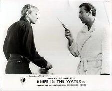 KNIFE IN THE WATER 1962 Roman Polanski, Leon Niemczyk 10x8 LOBBY CARD