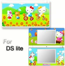 Hello kitty CAT VINYL SKIN STICKER f NINTENDO DS LITE 4
