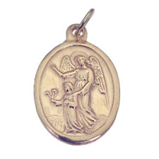 18K Rose Gold Plated Charm ARCHANGEL Guardian Angel Watch over Protect child NEW