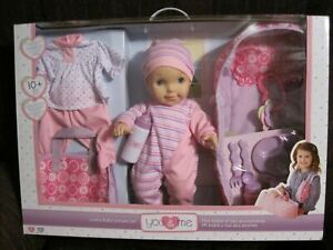 """YOU & ME LOVELY BABY DELUXE SET--16"""" DOLL--NEW--UNOPENED"""