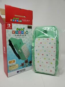 HORI Animal Crossing Shoulder Pouch Bag Nintendo Switch | New | US Seller