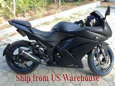 Matte Black Complete Injection Fairing for 2008-2012 Kawasaki Ninja 250R EX250