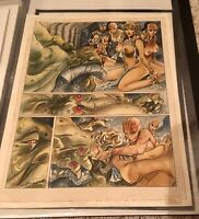 RARE  LORNA - Bethlehem Steele original artwork - COLOUR