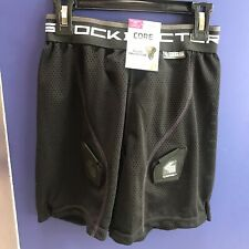 Shock Doctor Girls Core Loose Hockey Shorts With Pelvic Protector, Large 24-26