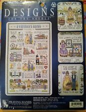 "Leisure Arts : "" Virtuous Woman "" Proverbs 31 Sampler Counted Cross Stitch Kit"