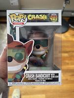 Funko POP! Games: Crash Bandicoot With Scuba Gear #421 w/ FREE PROTECTOR