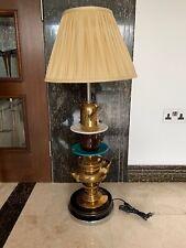 Kare Design Unique Gorgeous Standing Ceramics Pots Lamp Light With Cream Shade