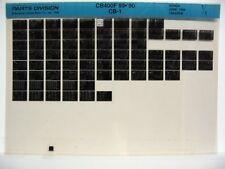 Honda CB400F CB400 1989 1990 Parts List Catalog Microfiche a842
