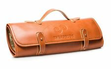 EVERPRIDE Chef's Knife Roll Up Storage Bag (8-Pocket) - Made of Leather