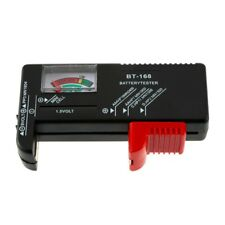 Universal Battery Tester for AA AAA C D 9V and Button Cells