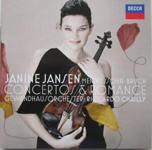 JANINE JANSEN - CONCERTOS & ROMANCE  - CD