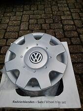 Original VW Volkswagen Radkappen Radzierblenden Golf Caddy Jetta Touran 16