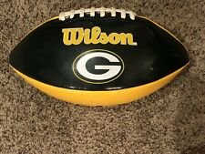 Wilson Green Bay Packer Vinyl Autograph Football Wtf1634. Jdw48