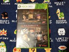 Dead Or Alive 5 Ultimate BRAND NEW SEALED  (Microsoft Xbox 360, 2013)