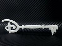Disney Key 1:1 Accurate Scale High Detail 3D Print Custom DIY Fan Art - White