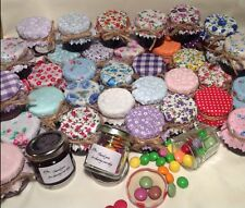 JAM covers Fabric X 100 Mixed Pack Fit Jar Lid Size 46-53mm