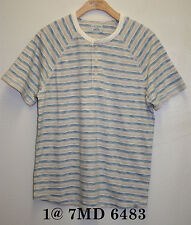 Lucky Brand,Men's Striped Henley Casual Shirts