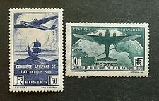 France 1936 ++ Trav Atl Sud ++ N°s 320 ++ & 321 ++ Neufs Sans Charnière  TTBE