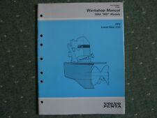 Werkstatthanbuch  DPX Z-Antrieb untere Getriebe Volvo Penta