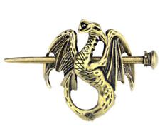 Viking Renaissance Dragon Hair Sticks Wyvern Dragon Hairpin Accessories Jewelry