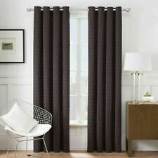 Times Square 84-Inch Grommet Window Curtain Panel in Grey