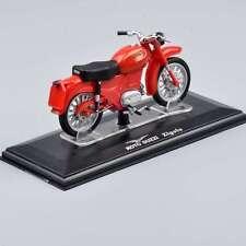 1/22 Scale Moto Guzzi Zigolo Motorcycle Motorbike Italeri Diecast Model Toy