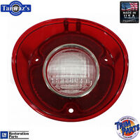 72 SS Malibu Reverse Taillight Back Up Tail Light Lamp Lens Made in the USA - LH