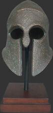 Achilles Helmet Greek warrior statue history home decor art