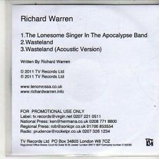 (DB215) Richard Warren, The Lonesome Singer in The Apocalypse Band - 2011 DJ CD