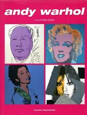 Scarce Italian Andy Warhol Art Book