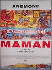 Affiche MAMAN Romain Goupil ANEMONE Arthur H. 40x60cm