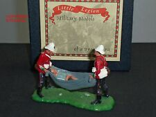 LITTLE LEGION Z/40 ZULU WAR SAVING PRIVATE EVANS METAL TOY SOLDIER FIGURE SET