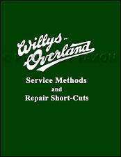 Overland Repair Manual 1910 1911 1912 1913 1914 1915 1916 1917 1918 1919 Service