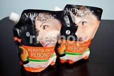 VERDON NE SILKY KERATIN PAPAYA REBONDING HAIR STRAIGHTENING STEP 1 + 2