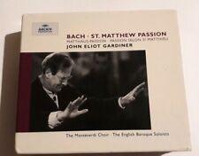 Johann Sebastian Bach - Bach: St. Matthew Passion (1989) Like New