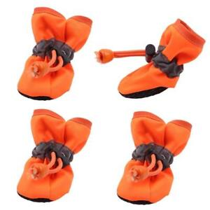 Pet Dog Waterproof Winter Anti-slip Shoes Rain Snow Boots For Cat Puppy Socks G