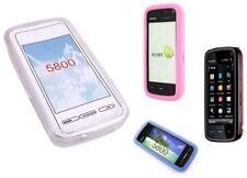 Carcasas transparente de silicona/goma para teléfonos móviles y PDAs