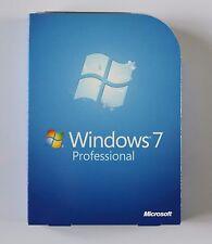 Microsoft Windows 7 Professional 32bit & 64bit Full Retail Version
