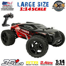 1:14 Scale 4WD RC Car Remote Control Monster Truck High Speed Off Road US STOCK