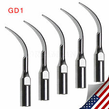 5 Pcs Dental Ultrasonic Scaler Insert Scaling Tips Tip for DTE SATELEC NSK GD1