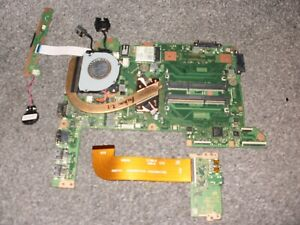 TOSHIBA SAT PRO R40-C-10R MOTHERBOARD 2.1GHz CPU P/N FMEPSY2 A4180A OK REF P7Q