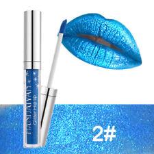 Waterproof Makeup Shimmer Glitter Liquid Lip Pen Lip Gloss Lipstick 7 Color
