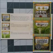 ORLEANS Board Game Promo Ortskarten No. 2 tiles Cathedral, Statue, Opera