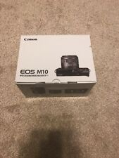 Canon EOS M10 Mirrorless Digital Camera with 15-45mm and 55-200mm Lenses (Black