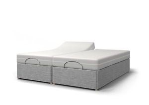 Majestic TWIN 4ft 6 Double, 5ft King or 6ft SuperKing Electric Adjustable Bed-NH