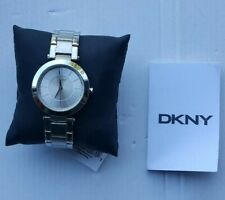 DKNY  NY2285 Silver  Watch DESIGN FOR WOMAN NICE