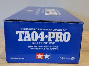 Tamiya TA04-PRO 58281 1/10 RC Racing Belt Driven New Unbuilt