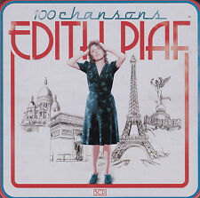 COFFRET MÉTAL 5 CD CARTONNES EDITH PIAF 100 CHANSONS BEST OF 2013 TBE