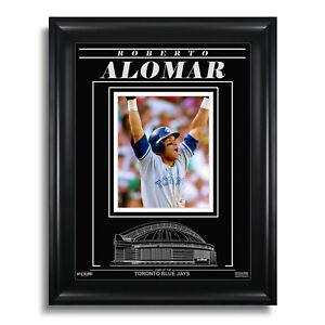 Roberto Alomar Toronto Blue Jays Engraved Framed 8x10 Photo - 1992 ALCS Home Run